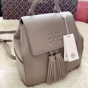 Tory Burch Thea Mini Backpack French Gray